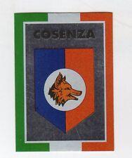 figurina CALCIATORI CALCIO FLASH 1993 SCUDETTO COSENZA