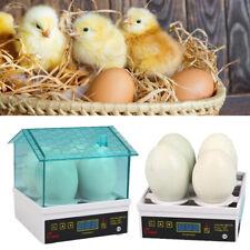 Semi-automatic Digital Egg Incubator 4 Eggs Mini Poultry Chicken Duck Hatchers