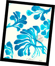 Yard Flower Blooms 2015 Contemporary Art Abstract PAINTING SIGNED manner Matisse