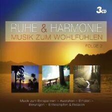 RUHE & HARMONIE - MUSIK ZUM WOHLFÜHLEN VOL.II 3 CD BOX