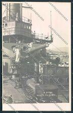 Genova J. Neer Nave Filiberto Foto cartolina EE1024