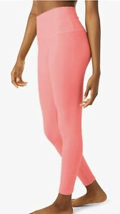 Beyond Yoga / Spacedye Caught In The Midi High Waisted Legging / Coral White S