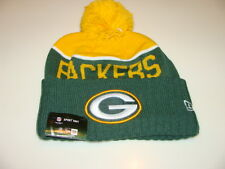 Green Bay Packers Knit On Field New Era Toque Beanie Player Sideline Hat Cap NFL