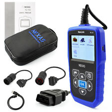 UNIVERSAL HEAVY DUTY DIESEL TRUCK DIAGNOSTIC SCANNER TOOL ENGINE CODE READER