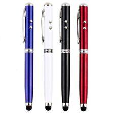 Laserpointer 4 in 1 LED Taschenlampe Kugelschreiber Touch Screen Stylus Stift·