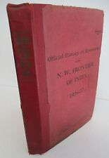 Official History of  Operations on the N.W. FRONTIER OF INDIA 1936-37 Rare