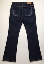 Lucky Brand Low Rise Boot Cut Jeans Dark Wash Stretch Denim Women's Size 2/26