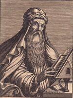 Portrait XVIIe Basile de Césarée Basil of Caesarea Василий Великий Kayseri