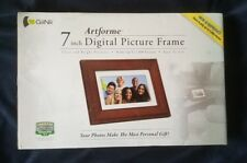 GiiNii GN-705W 7-Inch Artforme Digital Picture Wood Frame Holds 1000 Pictures
