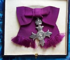 MBE Badge for Lady, Civil- Most Excellent Order of the British Empire Badge+ BOX