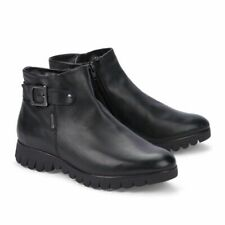 Black leather Mephisto Lili ankle boots
