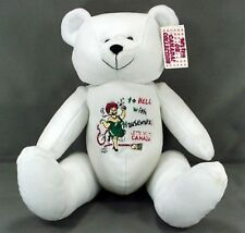 CREATURE COMFORTS OH CANADA COLLECTION #20021 LARGE WILLY BEAR w/ TAGS