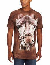 The Mountain T-Shirt Giraffe Mammal Tie Dye Shirt