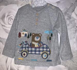 Boys Age 9-12 Months  - TU Sainsbury's Long Sleeved Top
