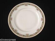 T&V Tressemanes & Vogt Limoges TRV 551 China Gold Pink Flowers 7-5/8 SALAD PLATE