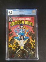 Omega Men 3 (1983) 1st Appearance Of Lobo CGC 9.4