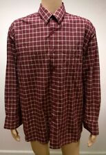 (Used) Mens Tweed River Long Sleeve Button Front Shirt Size: 3XL Checks