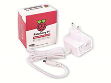 Raspberry Pi, Official Power Supply for Raspberry Pi 4 Model B, USB-C, 5.1V, 3A,