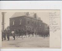 WW1 Foto AK Schlesien Breslau Wroclaw Militräparade mit Oberst 1915