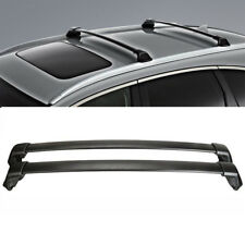 For 2012-16 Honda CRV Top Roof Rack Cross Bars Set Black OE Style