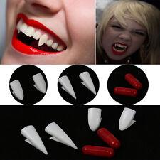 1Set Fake Halloween Dress Vampire Teeth Denture Fangs Costume Party Props Tool