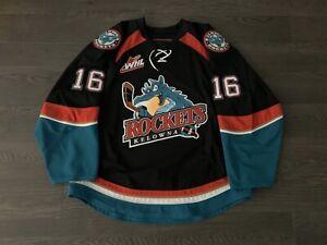 Kelowna Rockets Reebok Edge 2.0 WHL Jersey Canucks NHL #16 Lind Size 56