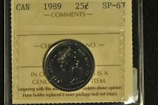 Canada 1989 Quarter 25 Cent - ICCS - SP67 -