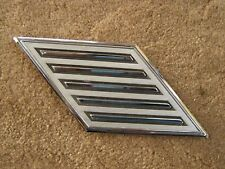 OEM Ford 1964 Mercury Comet Roof Side Ornament Emblem