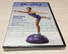Bosu Balance Trainer Total Body Workout Excersize Fitness DVD New, Free Shipping