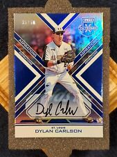 ⭐️#35/50⭐️🔥DYLAN CARLSON🔥2016 ELITE EXTRA EDITION BLUE AUTOGRAPH ROOKIE💎MINT