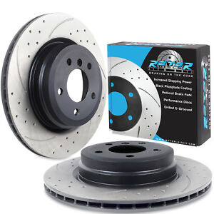 GROOVED VENTED 336mm BRAKE DISCS FOR BMW E92 335d E90 330 330d 325 325d 320d