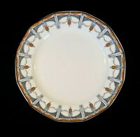 Beautiful Royal Doulton Claremont Lunch Plate, Orange Circa 1912