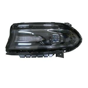 DODGE CHARGER 2016-2018 LEFT DRIVER HALOGEN HEADLIGHT HEAD LIGHT LAMP