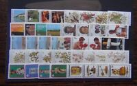 Bophuthatswana 1979 1982 Tourism Birds Scouts Grasses Disabled Easter Fruit MNH