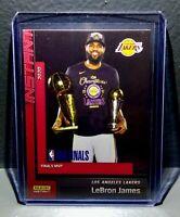 LeBron James 2020 Panini LA Lakers NBA Champions #29 Basketball Card