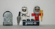 Kre-o Kreo Mini figure Cityville Invasion Collection 3 Major Meteor Zombonaut