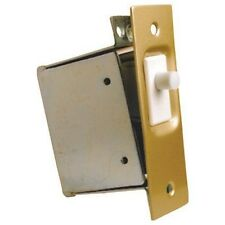 Lee Electric Door / Closet / Pantry Light Switch, Gold Faceplate, 120 VAC #210DN