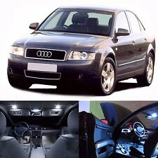 LED White Lights Interior Package Kit For Audi A4 2002-2004 B6 Only -19 Bulbs