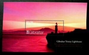 [SJ] Gibraltar Trinity Lighthouse 2007 Landscape Building Marine (ms) MNH