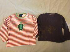 Mini Boden 5-6 Gymboree 5 Lot Animals Turtle Appliqué Stripe Moose Shirts