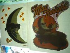 Mcdonalds Late Night Mac Tonight T-Shirt Transfer Iron On Piano Moon Man 1988