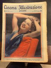 Cinema Illustrazione 1938 XIII n° 8 Ann Sheridan  23/12