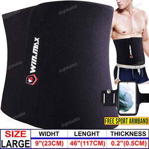 Waist Trainer Sweat Belt Men Women Tummy Wrap Hot Body Adjustable Slim Shapewear