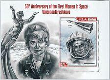 MALDIVES - ERROR, 2013 MISSPERF SHEET: V.TERESHKOVA, 1st WOMAN SPACE, ASTRONOMY