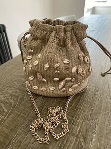 russell bromley Shell Crossbody Shell Bag/RRP £69/worn Twice