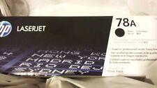 HP 78A, Black Original Toner Cartridge (CE278A)  New Mfg Sealed Box