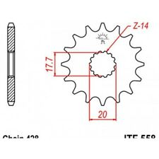 Pignon acier 16 dents jt chaîne 428 yamaha xvs125 drag... Jt sprockets JTF558.16