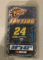 Jeff Gordon #24 DuPont Racing NASCAR Fan Flag 30 x 42 Flag by Winners Circle