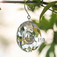1 Large Chandelier Glass Crystal Lamp Prisms Hanging Pendants Suncatcher 63MM
