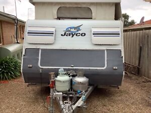 Jayco poptop caravan with shower and toilet